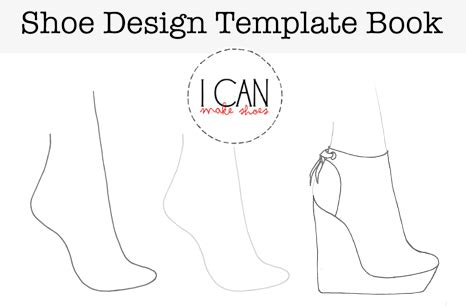 high heel shoe design template shoe design template book i can make shoes
