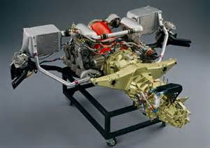 Porsche Transaxle 956 Engine And Transaxle Assembly
