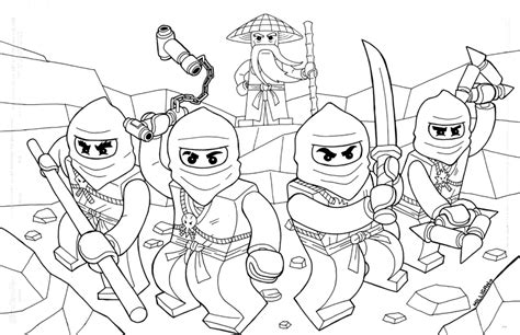 Lego Ninjago Coloring Pages Coloring Pages Ninjago Coloring Pages Free Printable 2