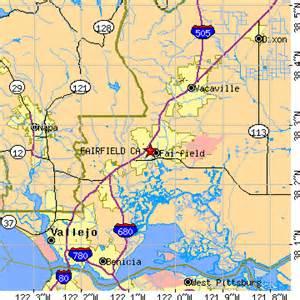 where is fairfield california on the map fairfield california ca population data races