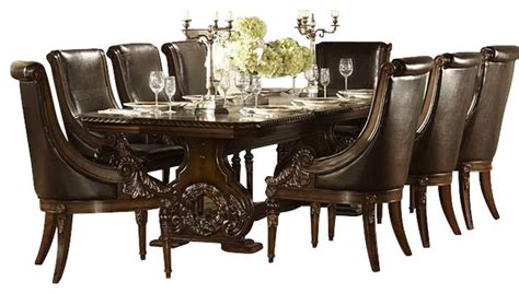 98 traditional dining room furniture sets orleans homelegance orleans 11 piece double pedestal dining room
