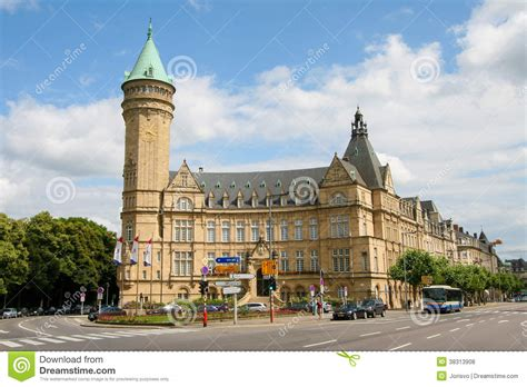 bank in luxemburg luxembourg bank editorial stock photo image 38313908