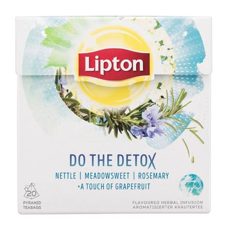 Lipton Detox Tea by Lipton Do The Detox Tea Packaging Coffee Tea