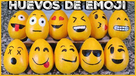 huevos de pascua de emojis youtube - Huevos Decorados De Emojis