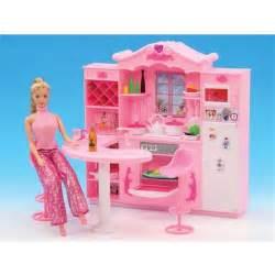 Barbie Kitchen Furniture by Online Get Cheap Barbie Furniture Kitchen Aliexpress Com