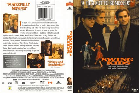 swing dvd swing kids movie dvd scanned covers 115swing kids