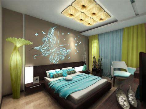 Ev Dekorlari by Duvar Kağıtlı Yatak Odası Dekorasyon Modelleri Fotoğraf