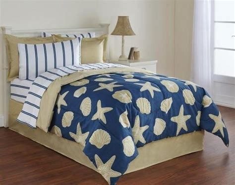 starfish comforter set starfish seashells beach nautical twin comforter set