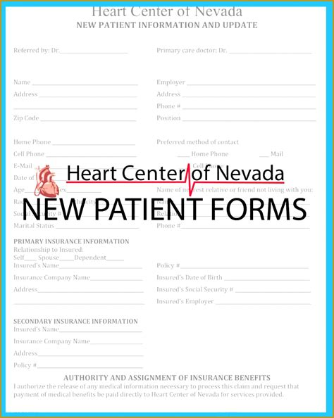 free patient information form template 4 free patient information form template fabtemplatez