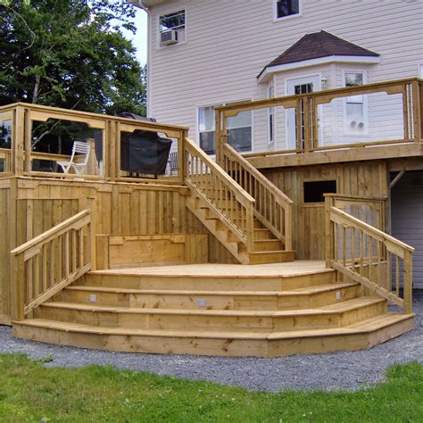 deck patio design awesome home deck designs homesfeed