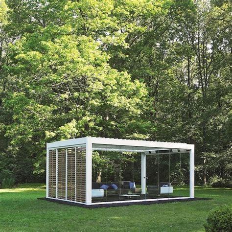 design of garden house louvered roof covers portfolio garden house design