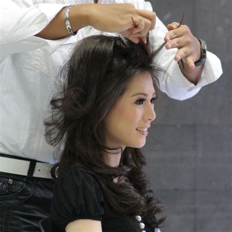 hairstylist sanggul rambut profesional anata salon bandung most popular hair beauty skin