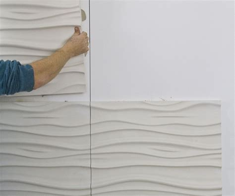 Concrete Kitchen Design by How To Install 3d Textured Wall Panels All