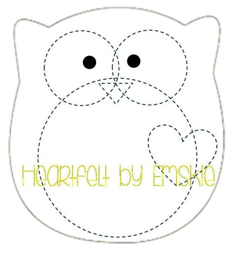 felt templates 1000 ideas about owl templates on owl