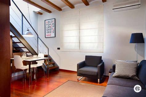 Duplex Apartment For Rent In Duplex Apartment With Terrace For Rent In Barcelona Via