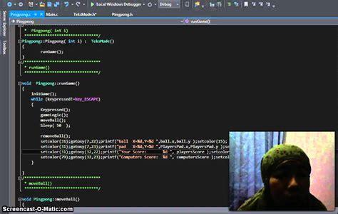 tutorial c game programming tutorial how to make ping pong dash game in c programming