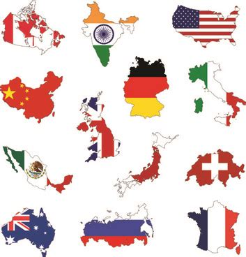 country map vector european country flag free vector 5 157 free
