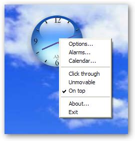 clock wallpaper for windows xp vista style analog desktop clock for windows xp