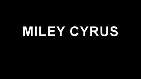 miley cyrus we cant stop lyrics we can t stop miley cyrus lyrics youtube