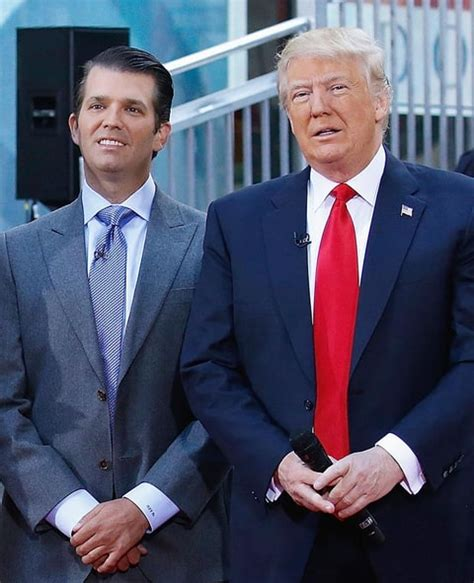 donald trump family photos donald trump jr claims he has zero contact with his