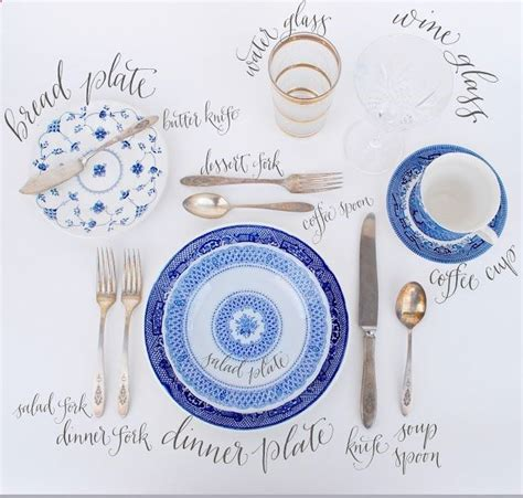 how to set table how to set a proper table party pinterest