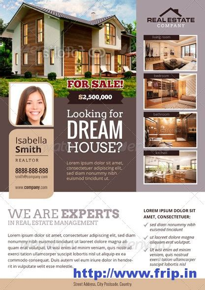 online real estate flyers by fourminuteflyers