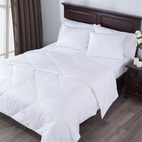white cotton comforter cover lightweight white goose down comforter 550 fill power