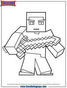 Bubba Dubs Minecraft Coloring Pages Mine Craft  sketch template
