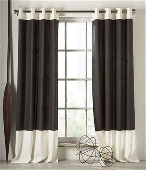 home interior style black and white kitchen curtains
