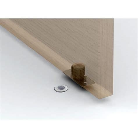 Floor Mounted Door Stop by Black Door Stop Fantom Floor Mounted Magnetic Door Stop
