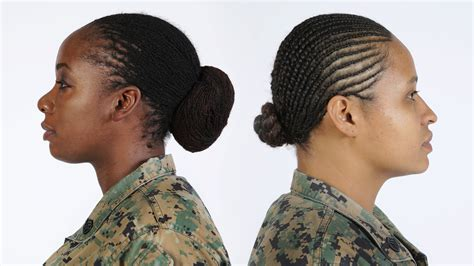 hairstyles for female army soldiers uniform board decision updates hair regulations gt the