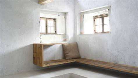 wohnung wand wohnen einrichten und deko mit beton