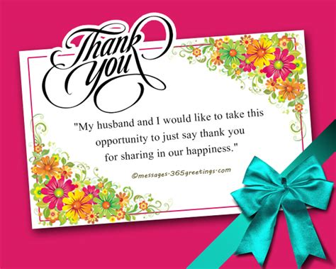 Wedding Blessings Wishes Sle by Thank You Letter To For Congratulating Me 28 Images