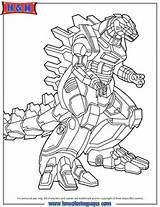 godzilla Colouring Pages (page 2)