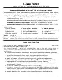 resume sle word doc project report exle pdf