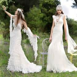 Yolan cris romantic wedding dresses alquimia 2010 collection marina