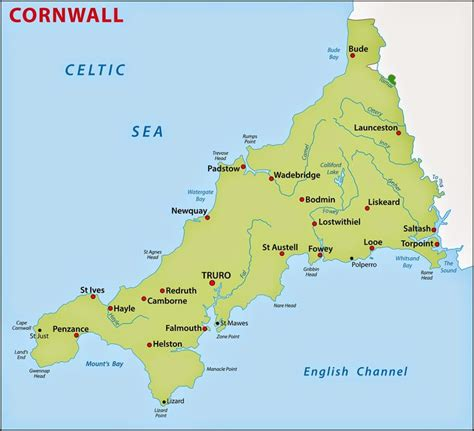 map uk cornwall 17 best ideas about map of cornwall on