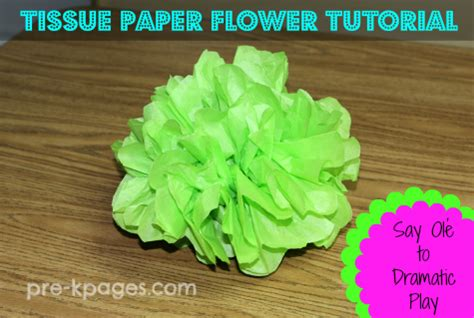 Show Me How To Make Paper Flowers - how to make tissue paper flowers