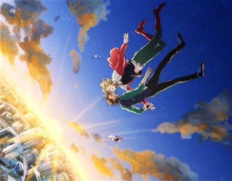 Anime Art Falling Artwork Anime Boys Tiger And Bunny Falling Shounenai
