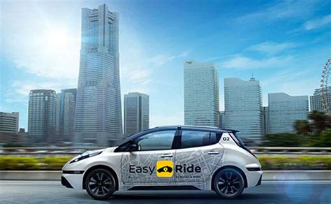 Nissan Driverless 2020 by Driverless Nissan Leaf Taxis Will Start Trial In Japan In 2018