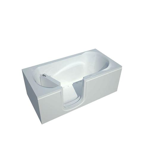 step bathtubs universal tubs nova heated step in 5 ft walk in air