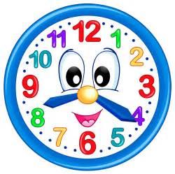 Kids clock clipart clipartfest