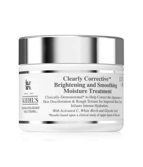 Kiehls Clear Corrective Brightening And Smoothing Moisture Treat 7ml top 10 kiehl s products findtopten