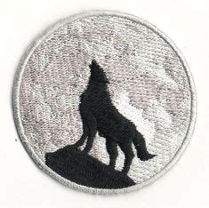 Wolf Wish We Came In Peace sad songs iron on patch stay home club stay home club