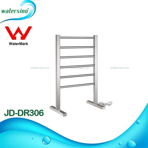 free standing electric towel holder stainless steel towel