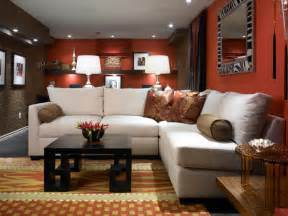 Basement Room Ideas by Basement Makeover Ideas From Candice Olson Decorating