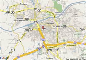 map of home towne suites tuscaloosa tuscaloosa