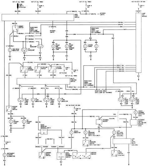 1990 ford ranger radio wiring diagram of a 1990 ford ranger wiring diagram of free engine