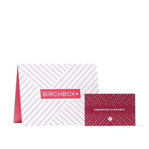 Gift Cards For Women - women s 6 month subscription gift card birchbox