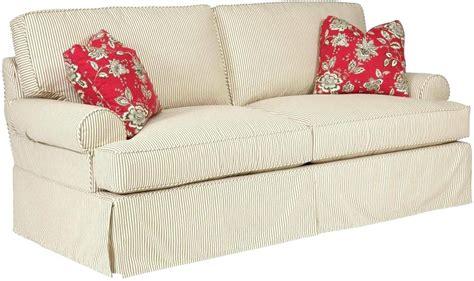 Sure Fit 2 Piece Sofa Slipcover Brushed Twill Sofa 2 Cushion Sofa Slipcovers